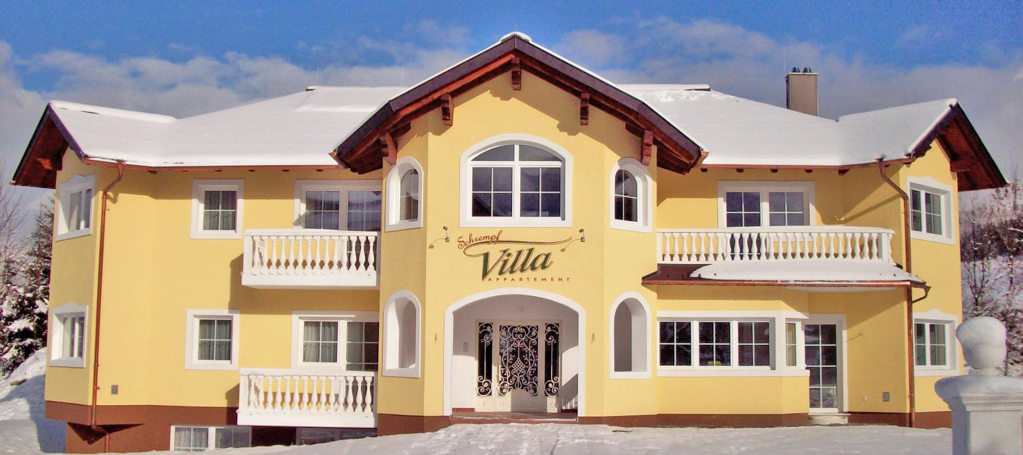 appartements villa schrempf paradies schrempf flachau. Black Bedroom Furniture Sets. Home Design Ideas